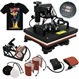 F2C Professional Multifunction Digital Transfer Sublimation Swing-Away 360-degree Rotation Heat Press Machine