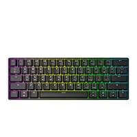 GK61 Mechanical Gaming Keyboard - 61 Keys Multi Color RGB Illuminated LED Backlit Wired Programmable for PC/Mac Gamer Tactile (Gateron Optical Brown)