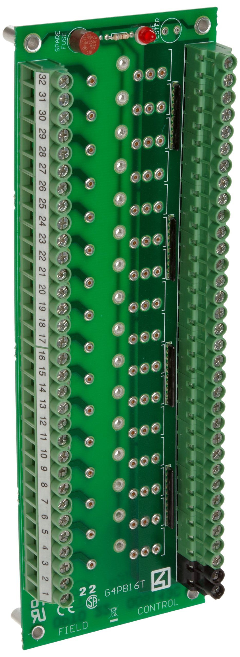 Opto 22 G4PB16T G4 16 Channel I/O Module Rack Terminal Strip by Opto 22 (Image #1)