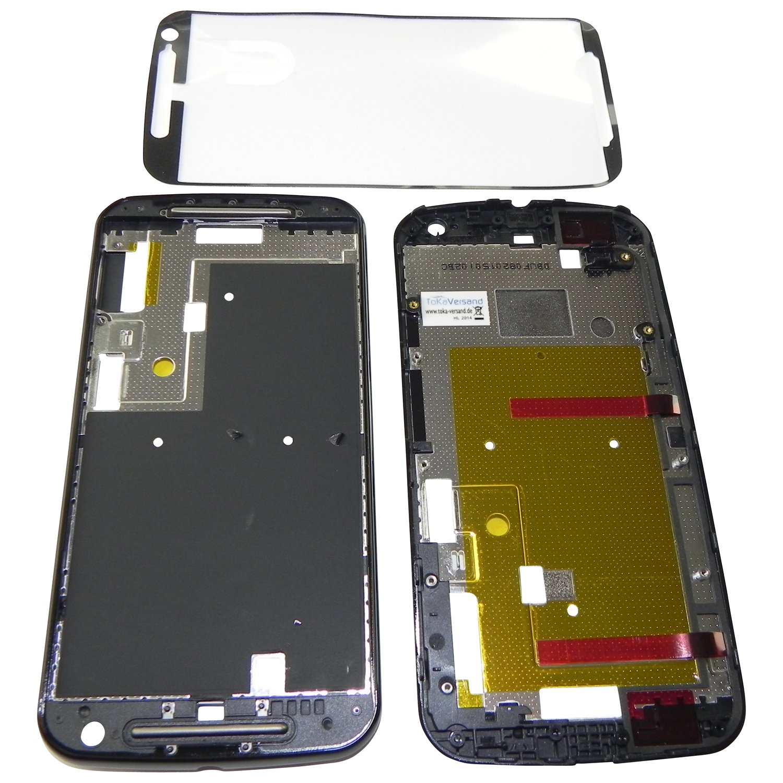 Motorola Moto G2 Rahmen Mittelrahmen Mittelgehäuse: Amazon.de ...