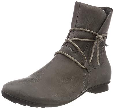 d60b3fa6a84367 Think! Damen KESHUEL 383127 Desert Boots Grau (14 Antrazit) 36 EU