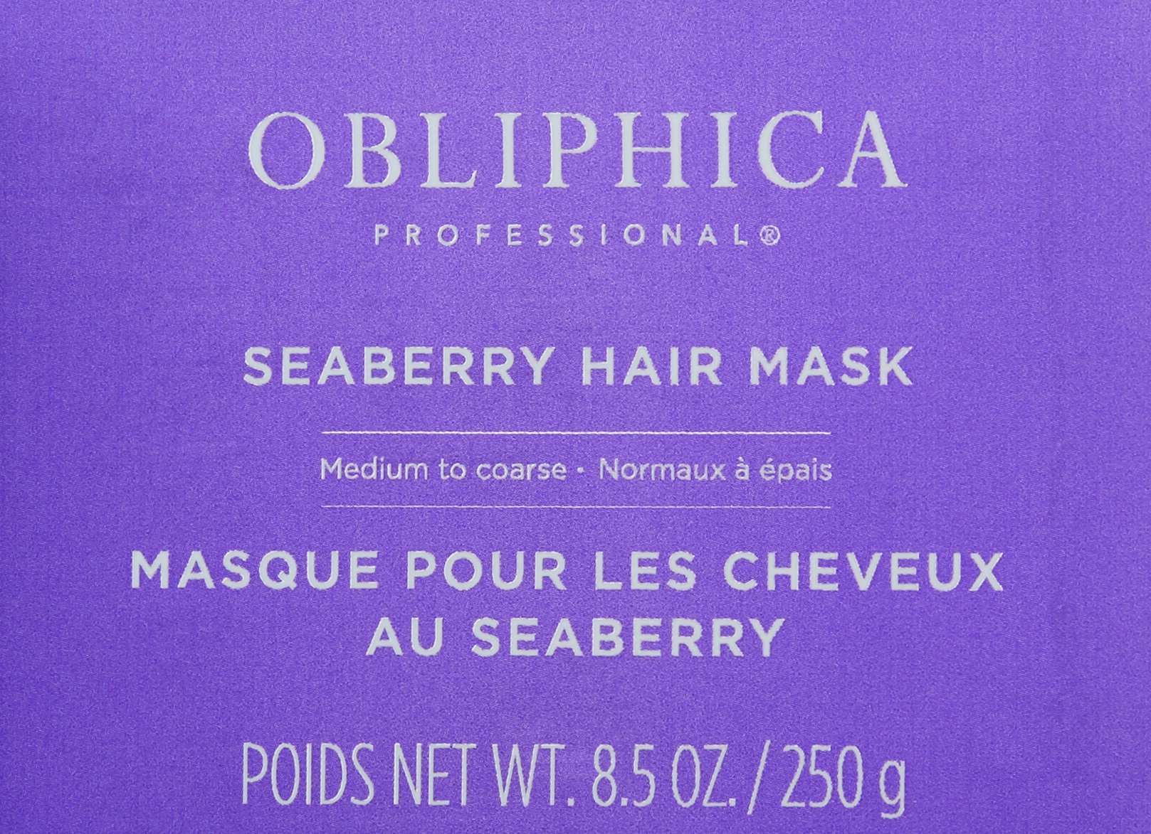 Obliphica Professional Seaberry Medium to Coarse Mask, 8.5 oz. by Obliphica Professional (Image #3)