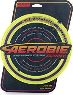 "product image for Aerobie 6046393 Sprint Flying Ring 10"" Diameter Yellow"