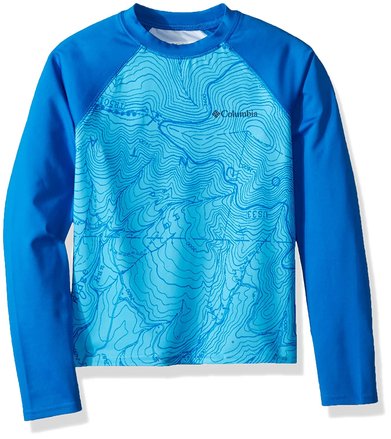 Columbia Kids Mini Breaker Printed Long Sleeve Sunguard