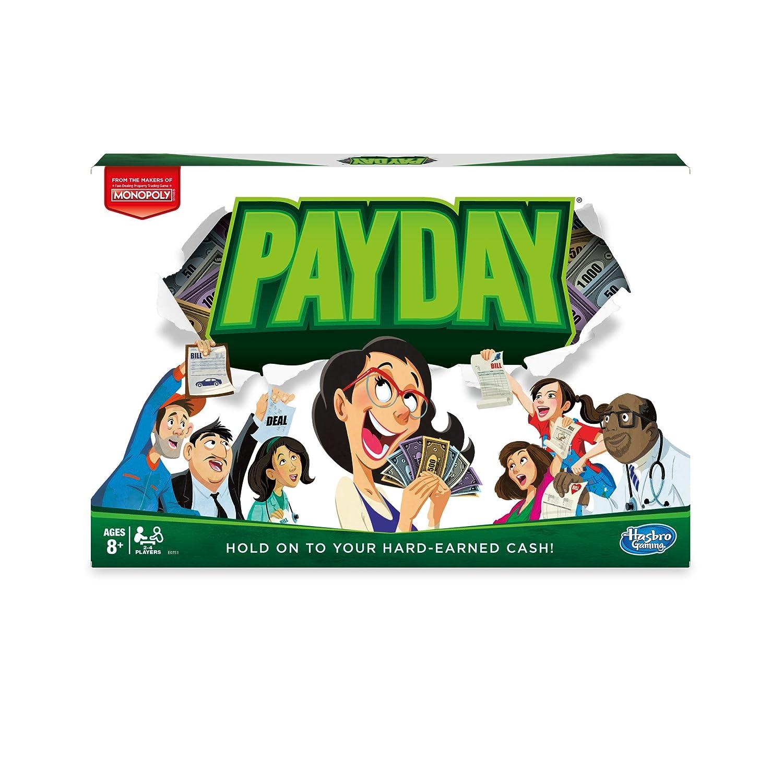 Hasbro Payday Niños y Adultos Simulación económica - Juego ...