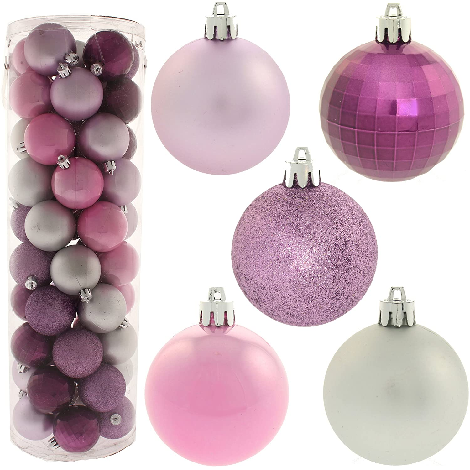 Lilac Christmas Decorations