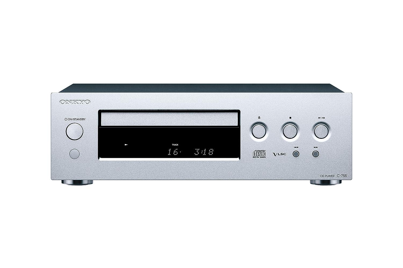 Onkyo C-755-S - Reproductor de CD (Formato MP3, Frontal Aluminio ...