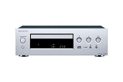 Onkyo C-755-S - Reproductor de CD (Formato MP3, Frontal ...