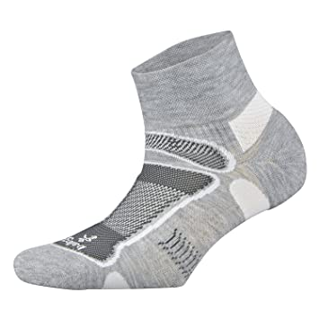 Balega Ultraligero del Hombre Trimestre Athletic Calcetines de Running, Hombre, Color Gris, tamaño L: Amazon.es: Deportes y aire libre