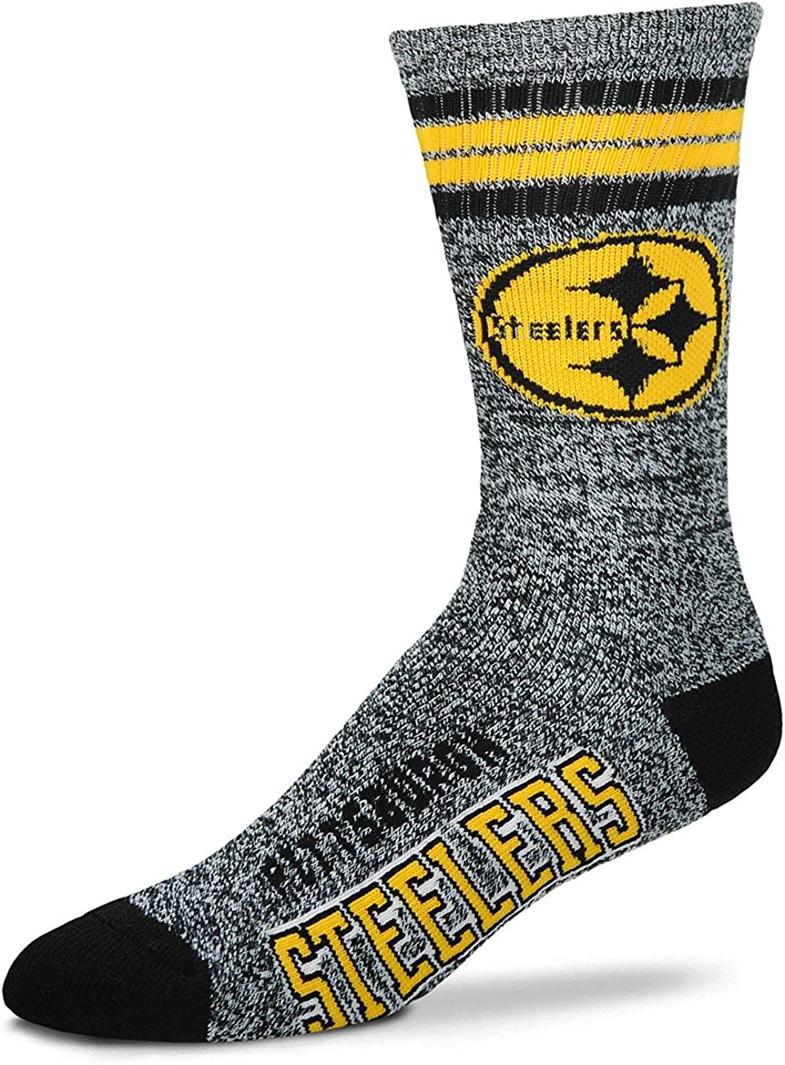 For Bare Feet Approx. 4-8 Years NFL Got Marbled Youth Size Kids Crew Socks