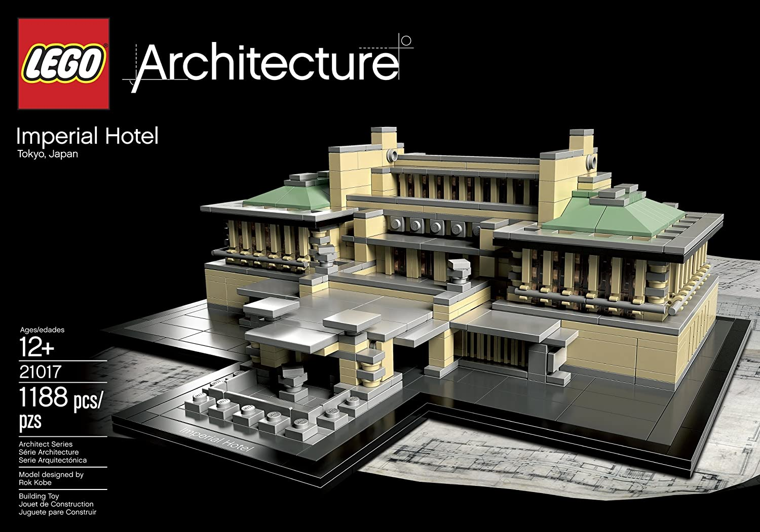 LEGO Architecture Imperial Hotel 21017 (Discontinued by manufacturer) by LEGO: Amazon.es: Juguetes y juegos