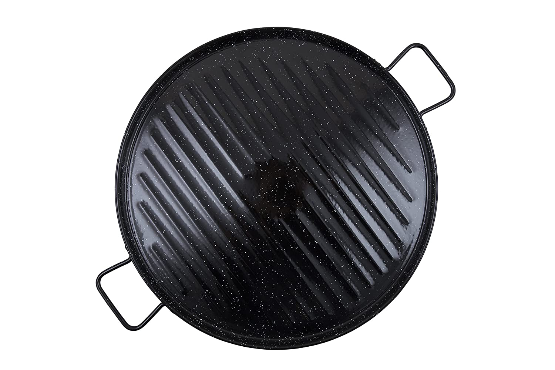 Garcima La Ideal Enamel Grill Pan 46cm 11046