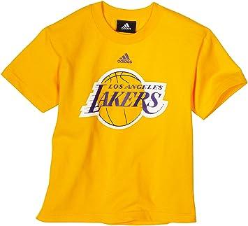 Outerstuff NBA Los Angeles Lakers Logo del equipo camiseta de manga corta - r8 a3smkla juventud, Infantil, dorado: Amazon.es: Deportes y aire libre
