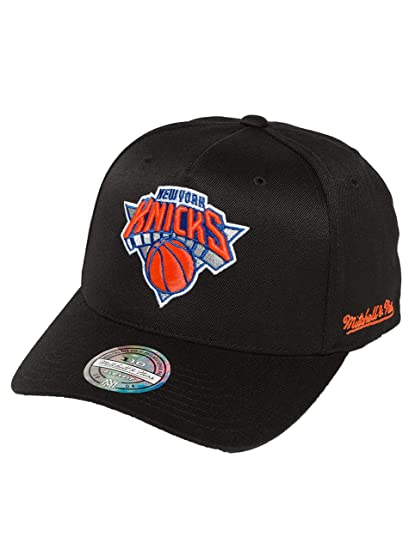 Mitchell & Ness Mujeres Gorras / Gorra Snapback Curved NY Knicks ...