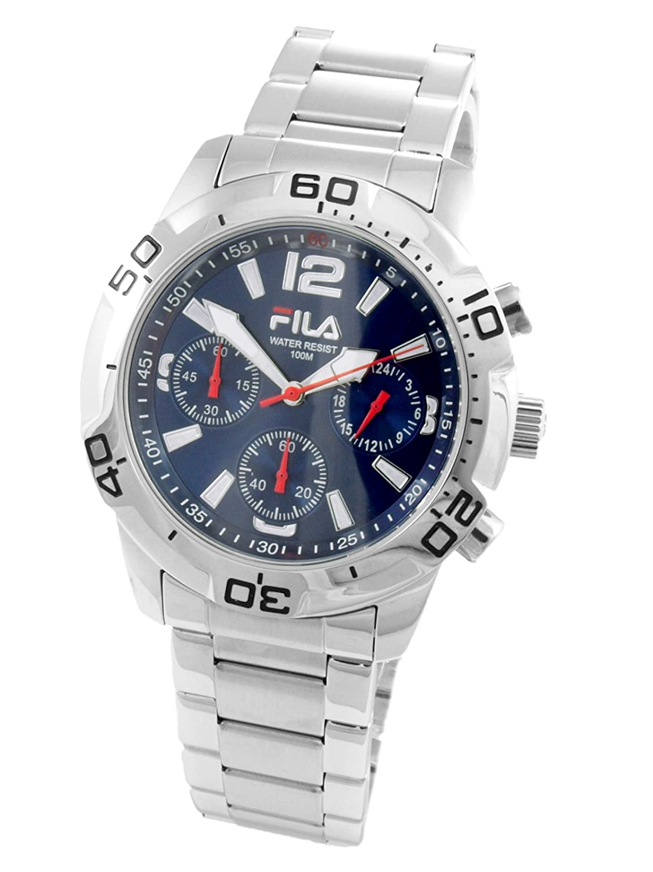 Fila Herren-Armbanduhr Analog Quarz Edelstahl FA0996