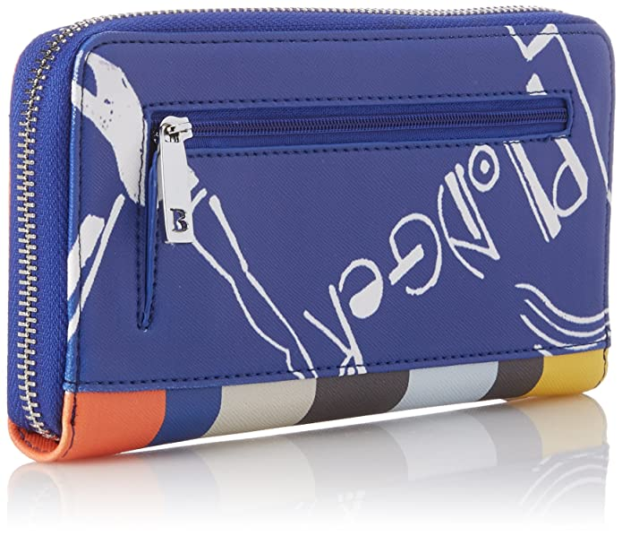 Maris Wallet Zip Around, Womens Wallet, Mehrfarbig (Multi), 03x10x19 cm (B x H T) Bulaggi