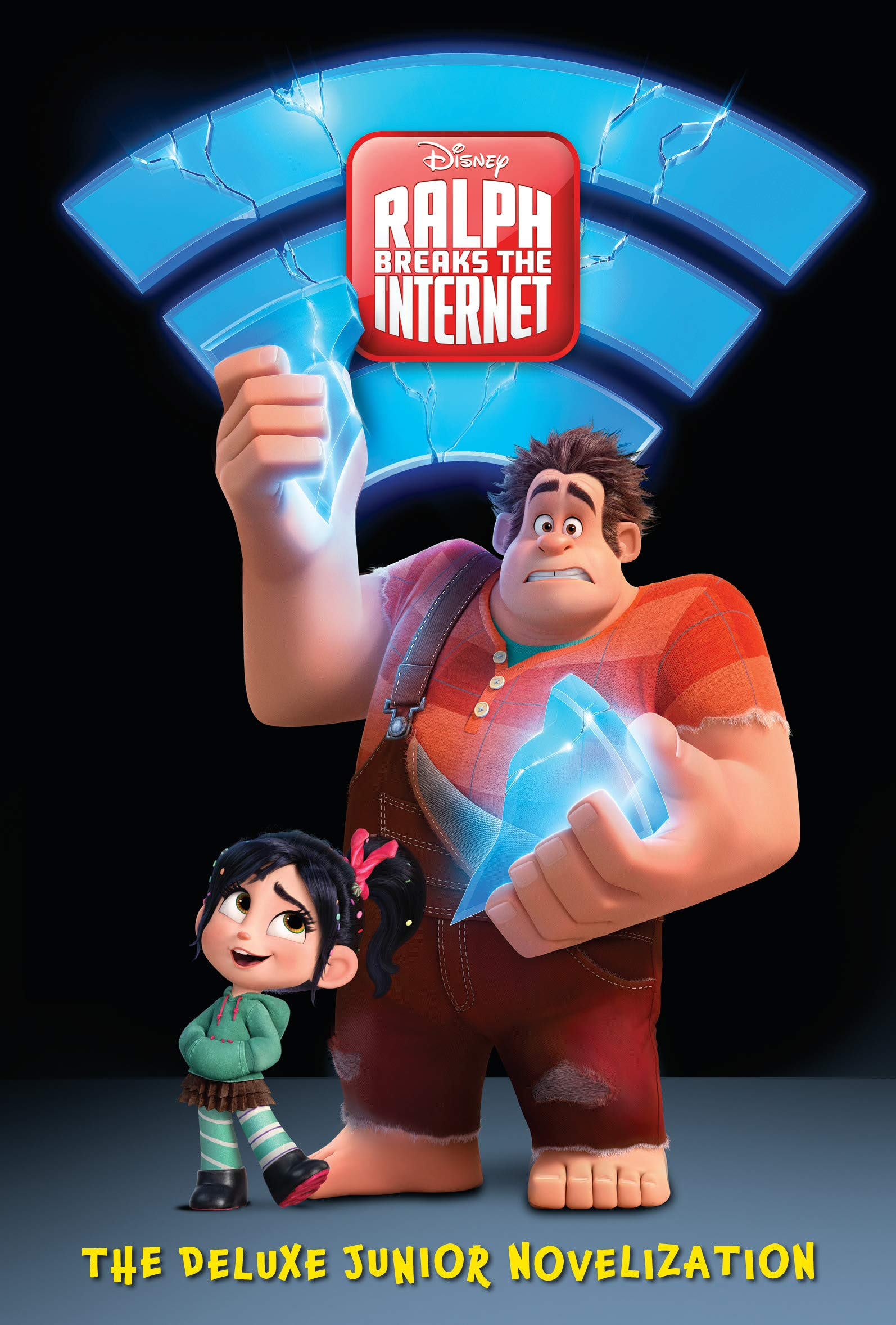 Ralph Breaks The Internet The Deluxe Junior Novelization Disney Wreck It Ralph 2 Rh Disney Rh Disney 9780736437622 Amazon Com Books