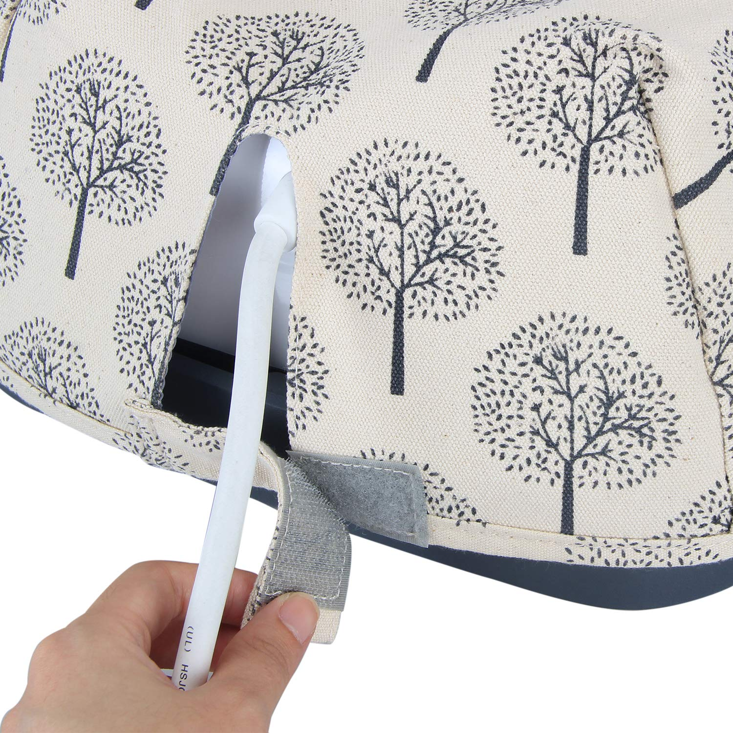 Trees Luxja Dust Cover Compatible with Cricut Easy Press 9 Inches x 9 Inches