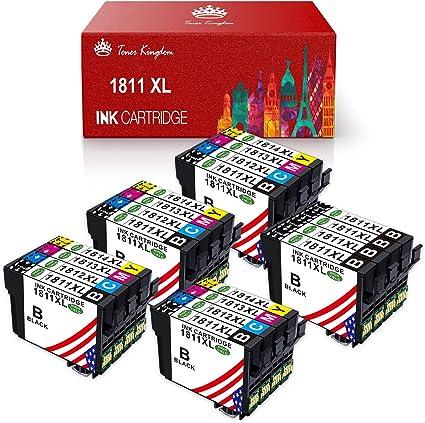 Toner Kingdom 18XL Cartuchos de tinta compatibles para Epson 18XL ...