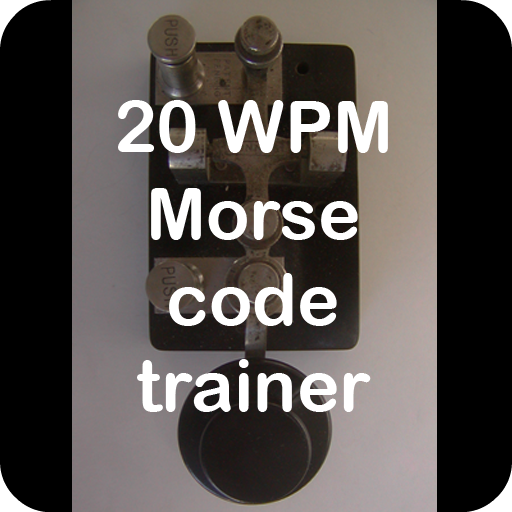 20 WPM amateur ham radio Koch CW Morse code trainer