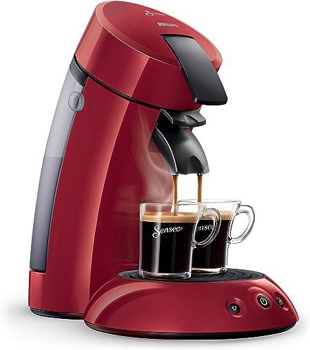 Philips HD7817/91- Máquina de café de pods, Rojo: Amazon.es: Hogar