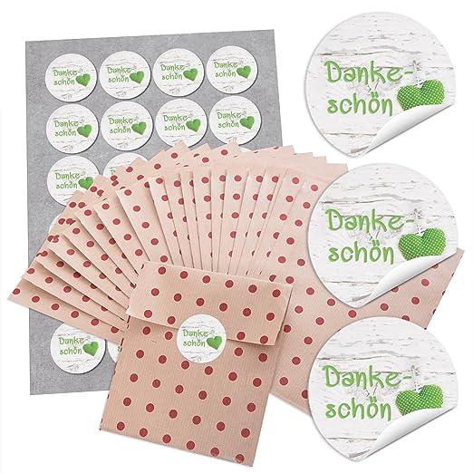 48 pequeñas bolsas marrones bolsas papel F. Regalos con ...