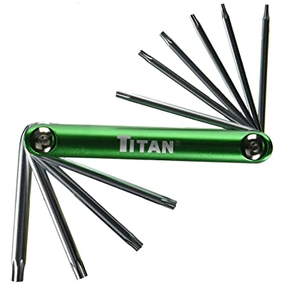 Titan 12710 Tamper Proof Star Key Set - Hex Keys - .com