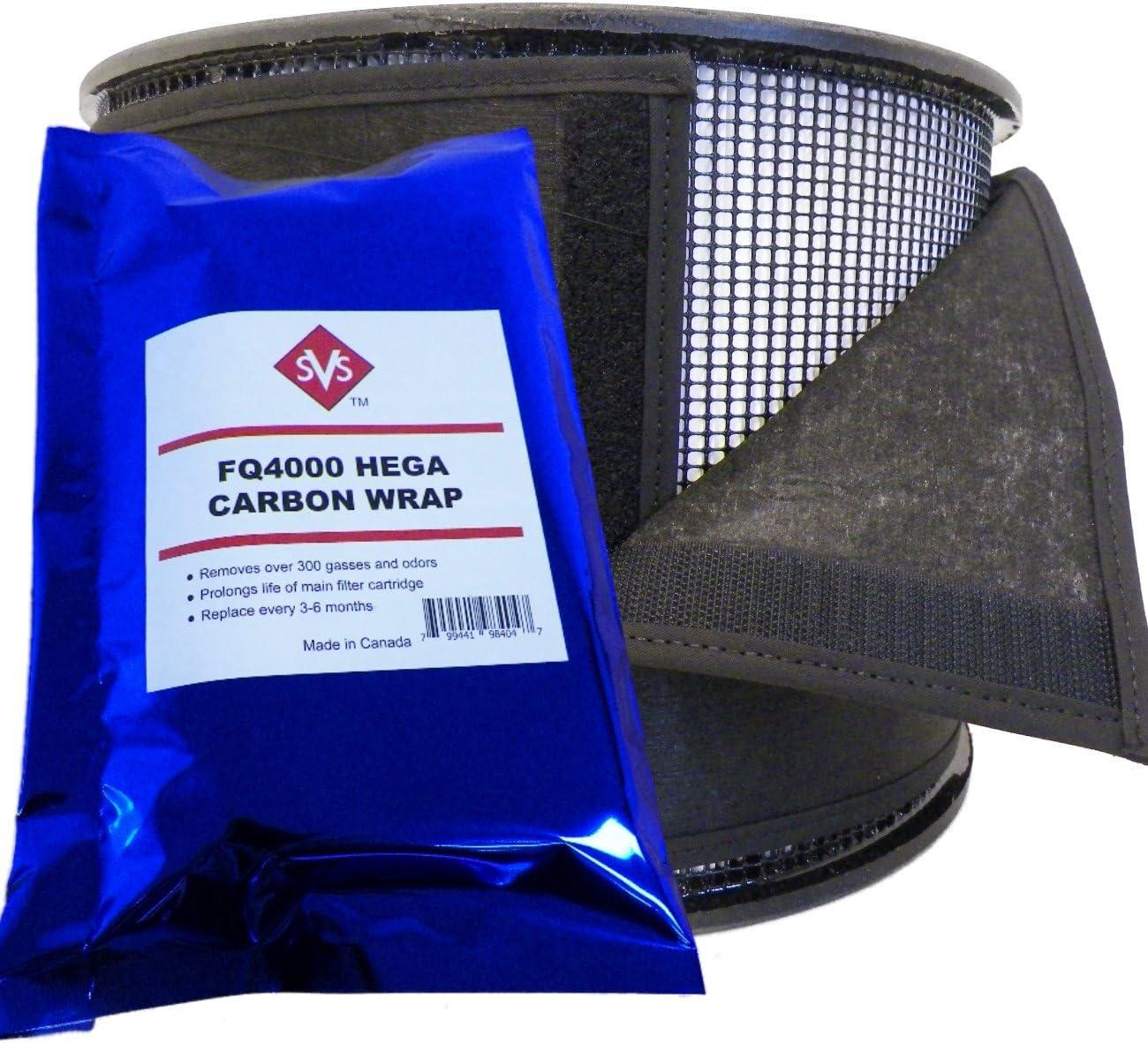 Hega - Prefiltro de carbón Activado de 7 Pulgadas, diseñado para ...