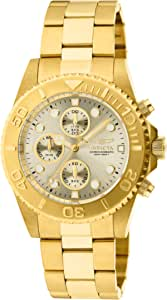 Invicta Mens Quartz Watch, Chronograph Display and Stainless Steel Strap 1774