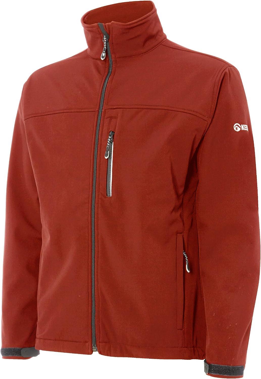 Keela Mens Zenith Pro Soft Shell Jacket-Black Large