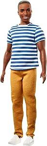 Barbie Ken Fashionistas Doll 18 Super Stripes