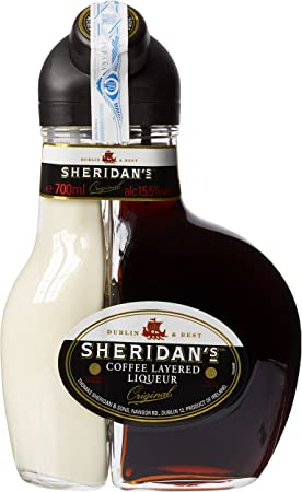 Sheridan's Crema de licor café y chocolate negro - 0.7 L