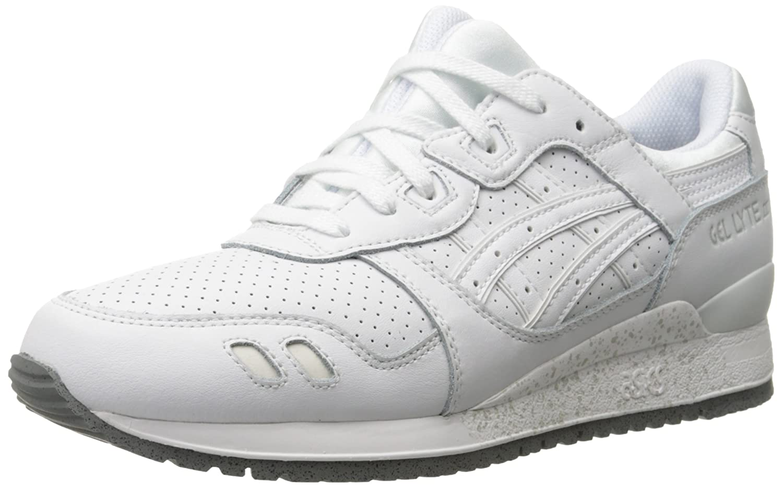 ASICS Men's GEL-Lyte III Retro Sneaker B00PV0G29W 6 M US|White/White