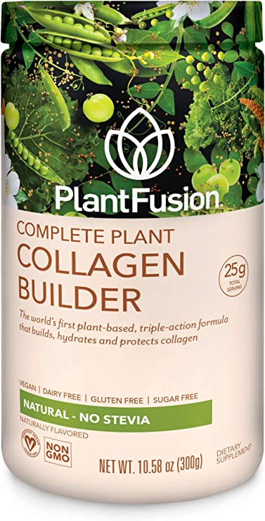 Amazon.com: PlantFusion Collagen Builder, Vegan Plant Based ...
