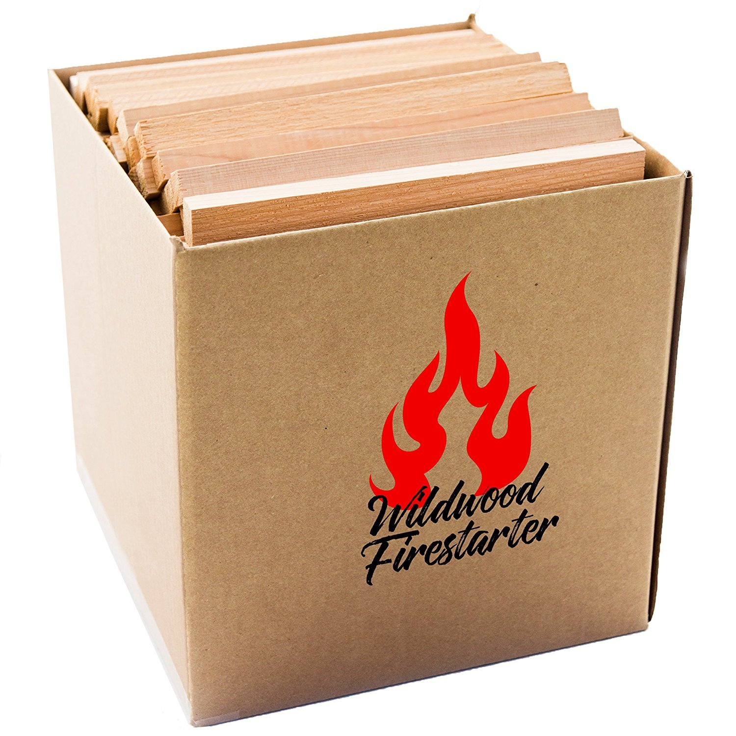 Kiln-Dried Kindling 1 Cubic Ft. Easy-Light Fire Starter All Natural Red Cedar by Wood Fire Grilling Co.