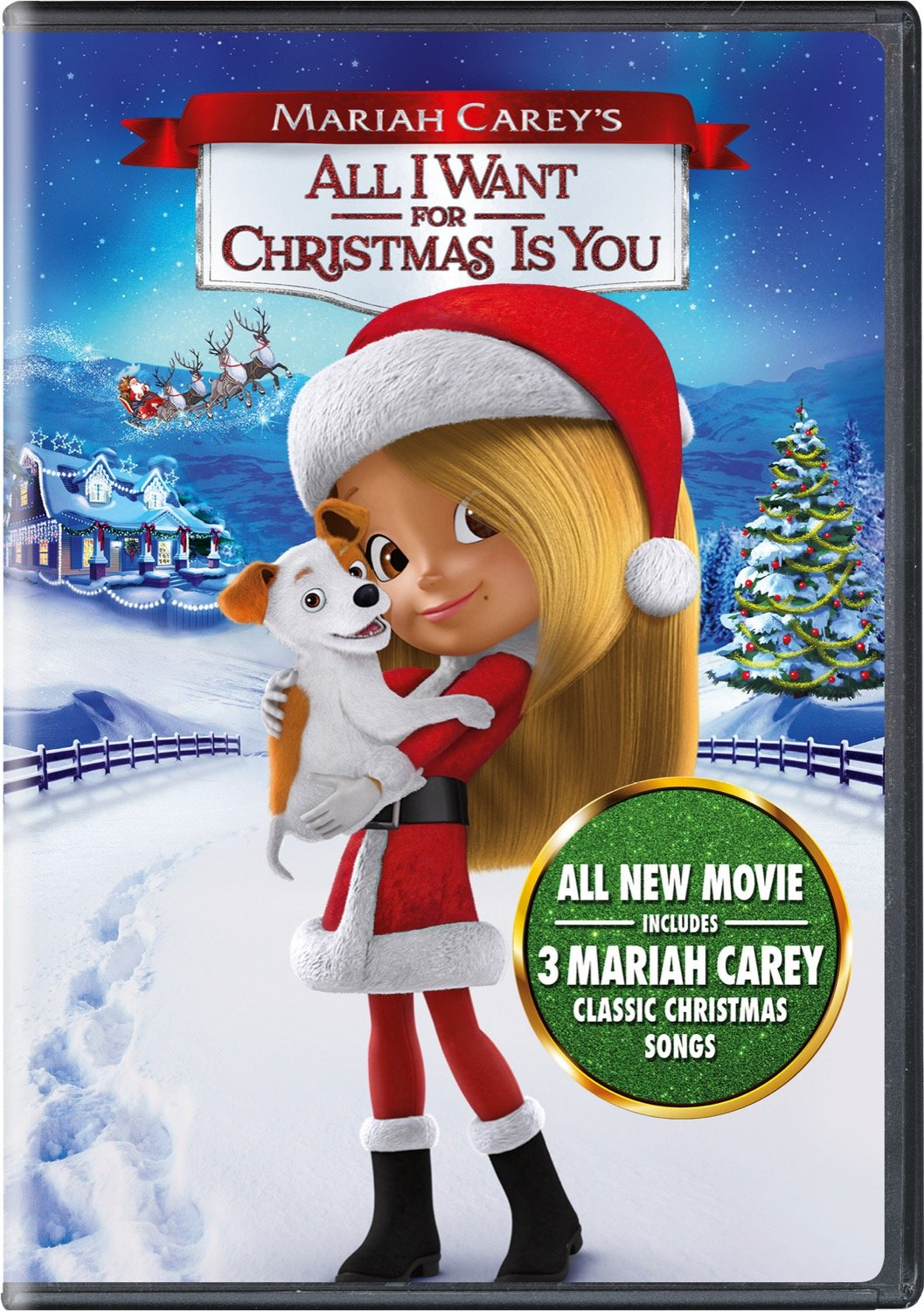 Amazon.com: Mariah Carey\'s All I Want for Christmas Is You: Breanna ...