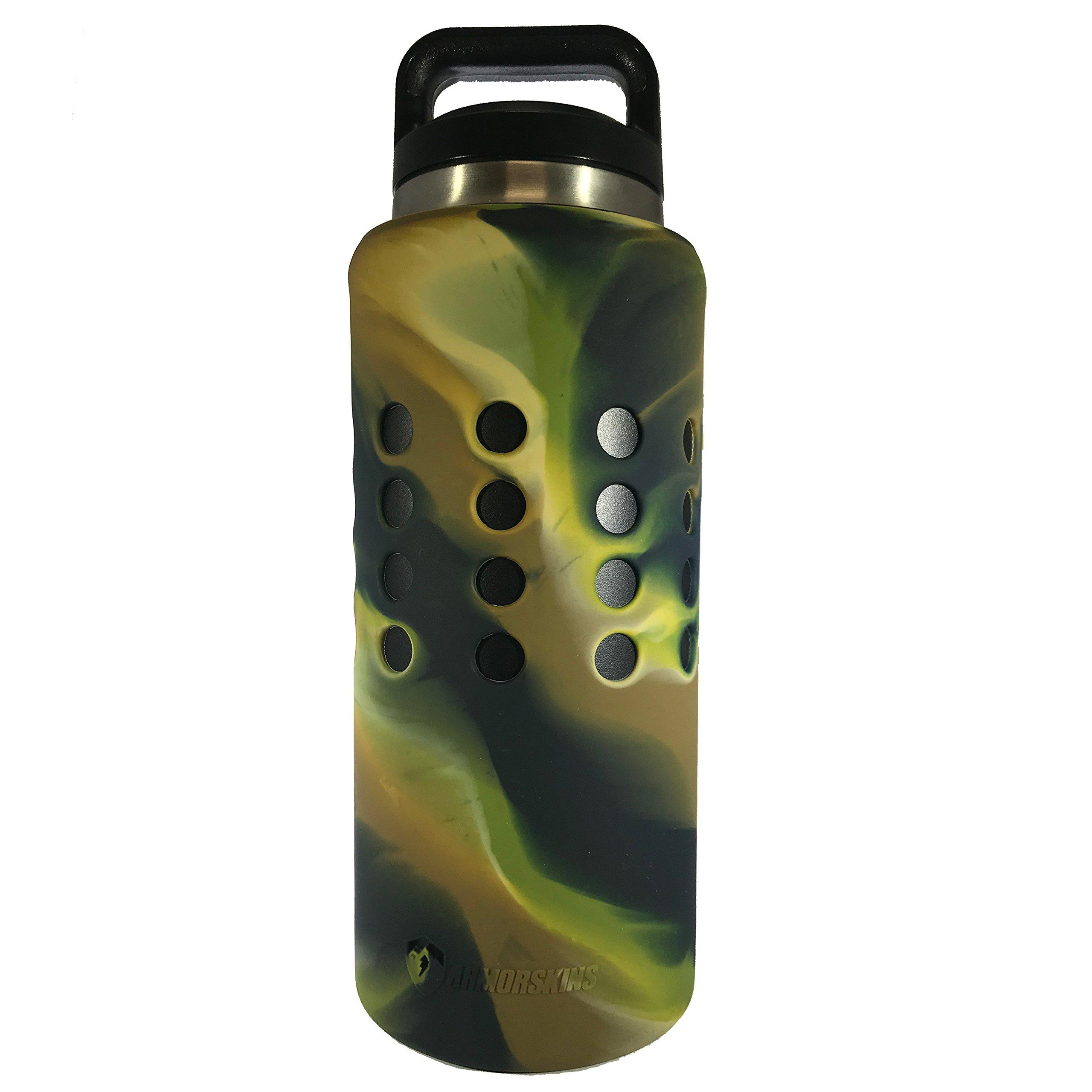 ARMORSKINS Rambler/Bottle Silicone Skin (36oz Camo)