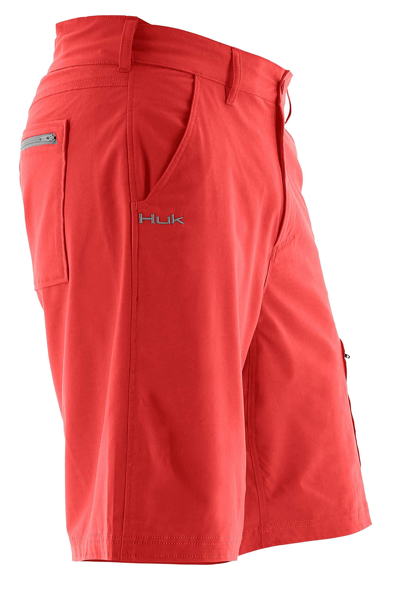 Huk NXTLVL 10.5'' Men's Short, Coral, X-Large