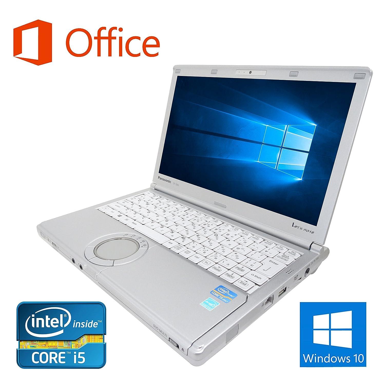 【Microsoft Office 2016搭載】【Win 10搭載】Panasonic CF-SX2/第三世代Core i5 2.5GHz/メモリー8GB/新品SSD:240GB/DVDスーパーマルチ/12インチワイド液晶/無線搭載/HDMI/USB3.0/中古ノートパソコン (新品SSD:240GB)   B0725QNXZ7