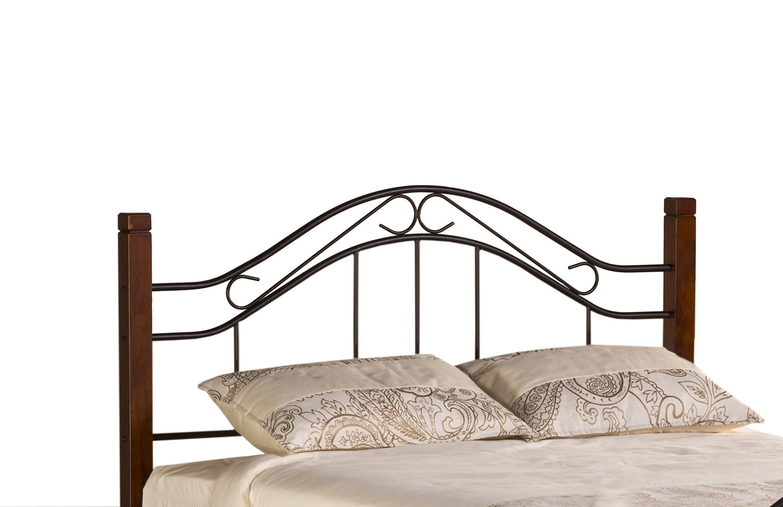 Hillsdale Furniture 1159HFQ Matson Headboard, Full/Queen, Cherry/Black by Hillsdale Furniture