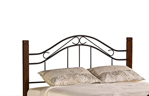 Hillsdale Furniture Matson Headboard, King, Cherry Black