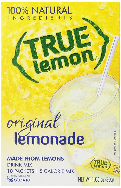 True Lemon Lemonade Drink Mix, 10 Count, 1.6oz