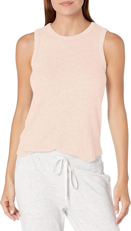 PJ Salvage Women's Loungewear Textured Basic Pajama Tank Top
