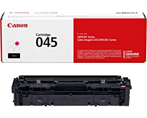 Canon 045 Toner Cartridge (Magenta) at amazon