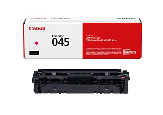 Canon 045 Toner Cartridge (Magenta) Printers at amazon