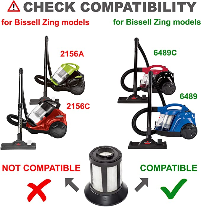 1665Y Powerforce Bagless Canister Vacuum Cleaner 1608602 ...