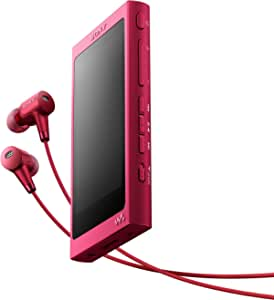 Sony NW-A35HN High Resolution Audio Walkman with Noise Cancelling in-Ear Headphone - Pink