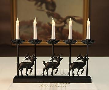 KerzenstÄnder hirsch leuchter kerzenleuchter kerzenhalter geweih