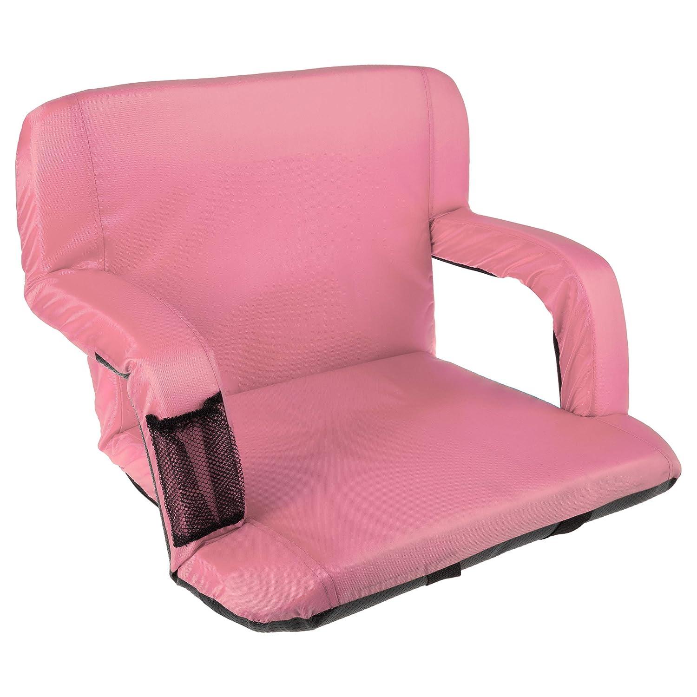 Home-Complete Stadium Seat Chair- Wide Bleacher Cushion
