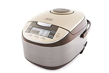 aroma professional 6 cups uncooked rice cooker food steamer silver  arc 6106 amazon com  aroma professional 6 cups uncooked rice cooker food      rh   amazon com
